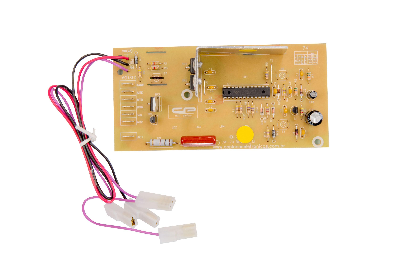 CP 0125 - Controle eletrônico compatível lavadora 5kg CWC22A/B bivolt