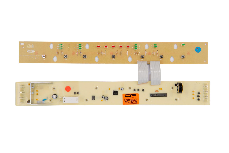 CP 0205 - Placa compatível lavadora BWQ24A 7kg c/aquecimento bivolt