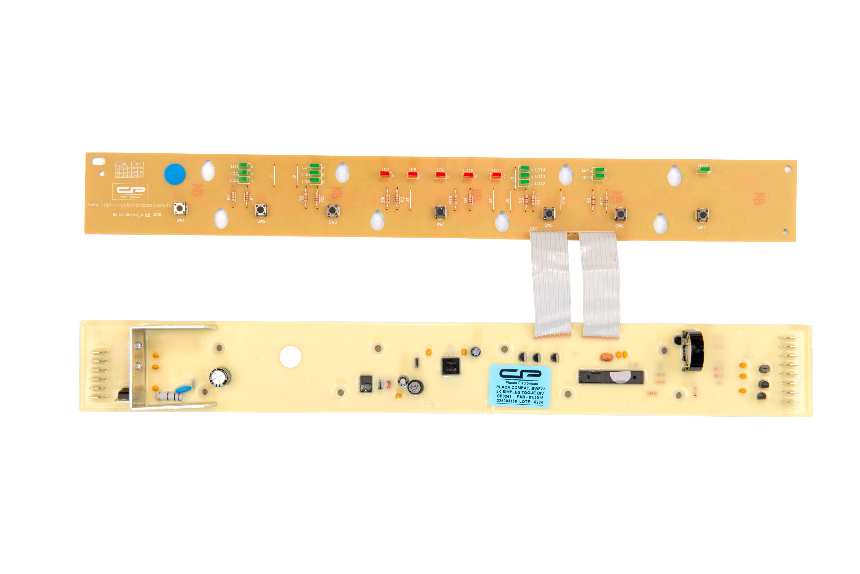 CP 0241 - Placa compatível lavadora BWF22 5kg simples toque bivolt