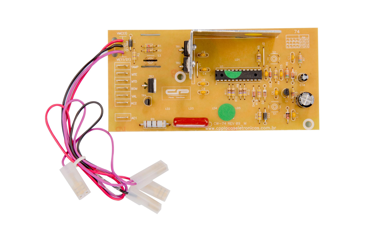 CP 0260 - Controle eletrônico compatível lavadora 6kg CWE06A/B bivolt