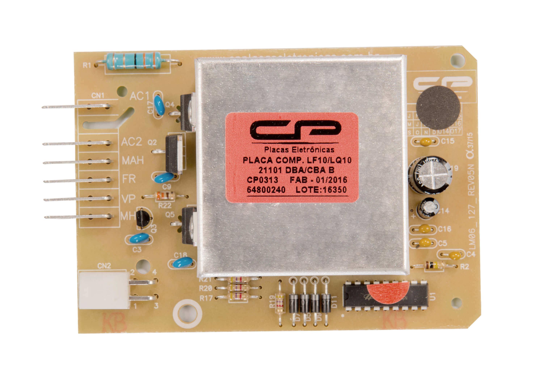 CP 0313 - Placa compatível lavadora LF10/ LQ10 bivolt