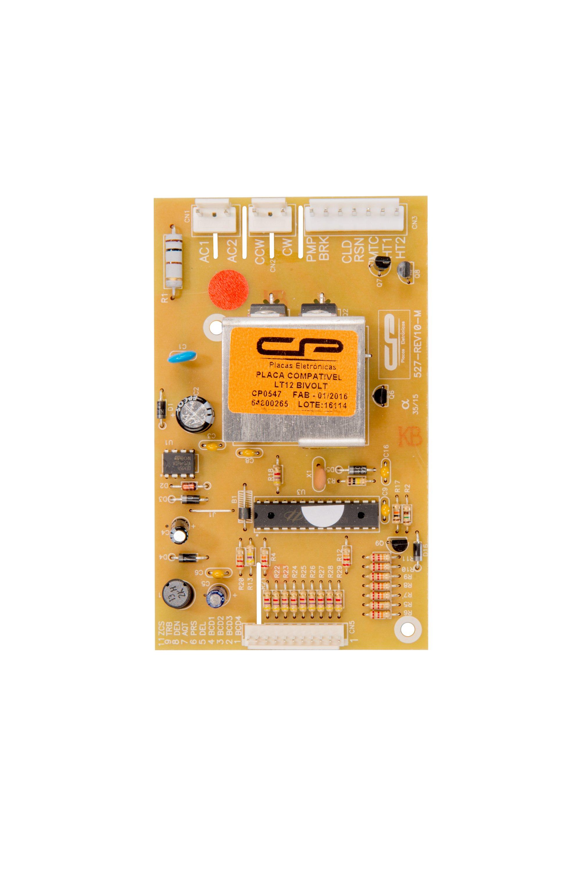 CP 0547 - Placa compatível lavadora LT12 bivolt