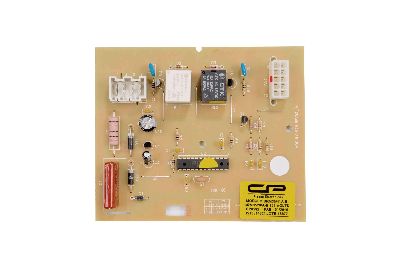 CP 0592 - Módulo comp. refriger. BRM35/41A B CRM35/38 A B / BRM36D  EB EG ER  EV EZ /CRM44D 127V