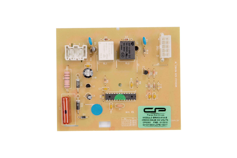 CP 0593 - Módulo comp. refriger. BRM35/41A B CRM 35/38 A B/ BRM36D  EB EG ER  EV EZ /CRM44D 220V