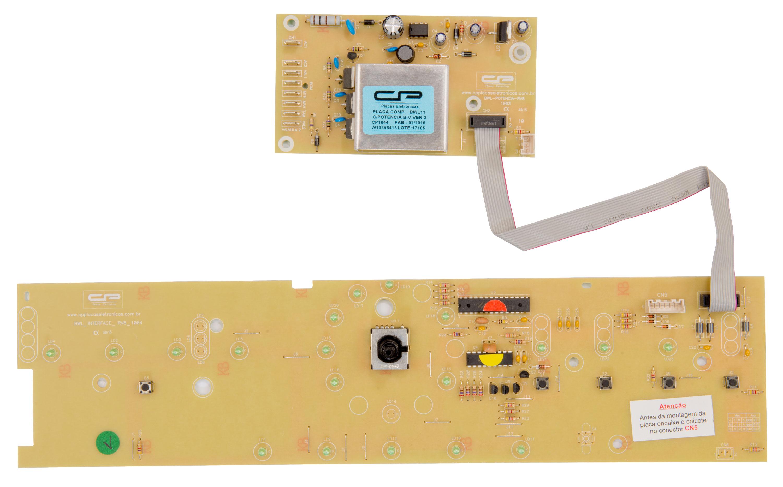 CP 1044 - Placa compatível lavadora BWL11_V3 c/potência bivolt/ Interface W10356413