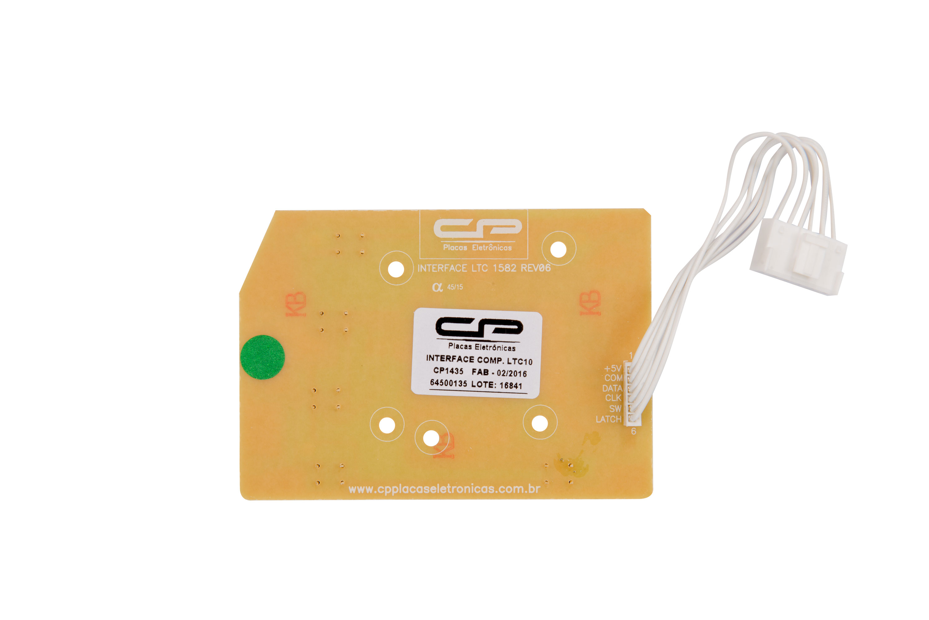 CP 1435 - Interface compatível LTC10, LTC12, LTC15, LT11F, LT12F, LT15F, LTD09, LTD11.