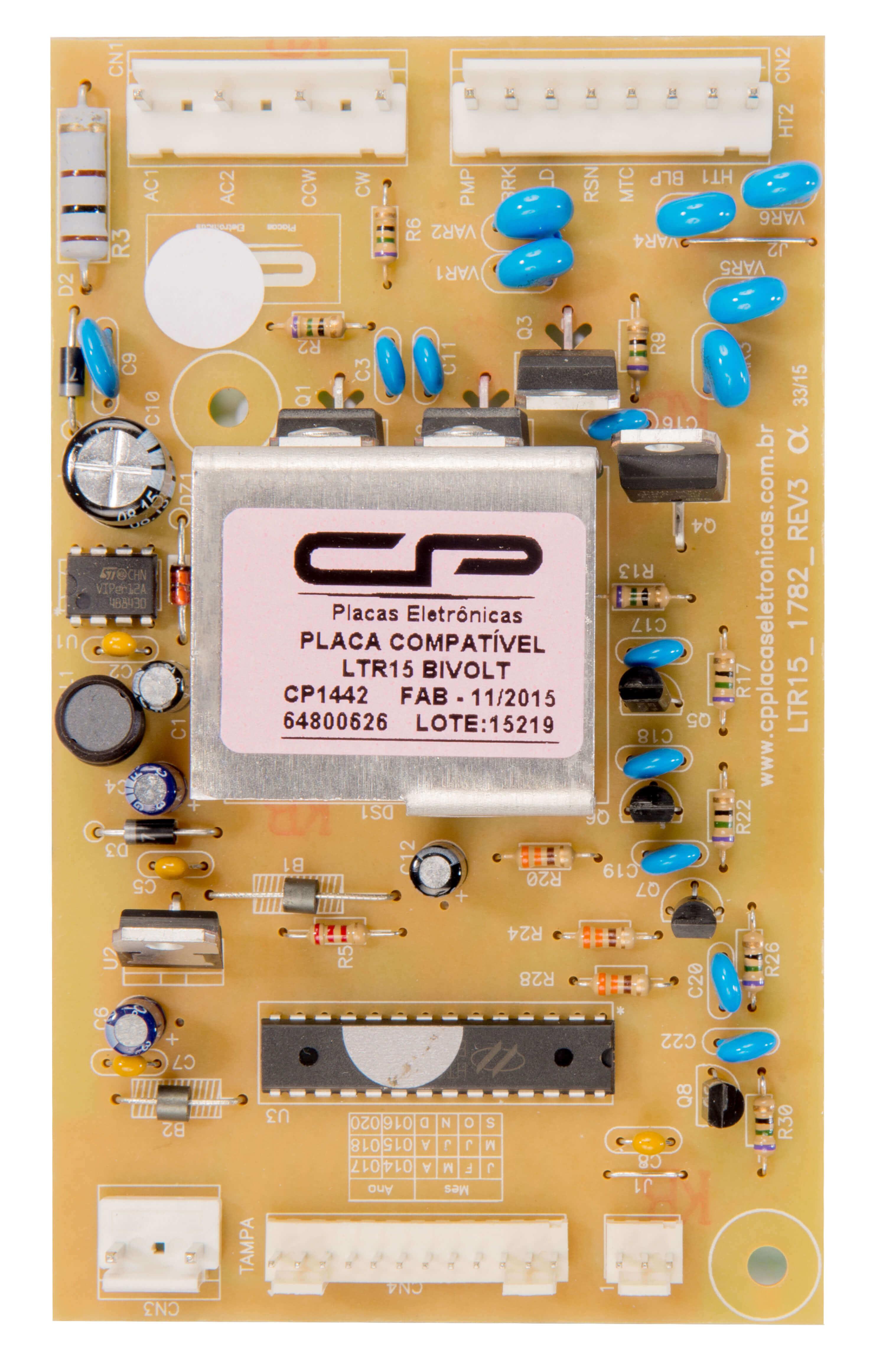 CP 1442 - Placa potência compatível LTR15 bivolt