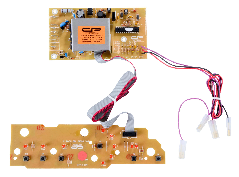 CP 1446 - Placa Compatível com BWC10AB_V2 10Kg Bivolt