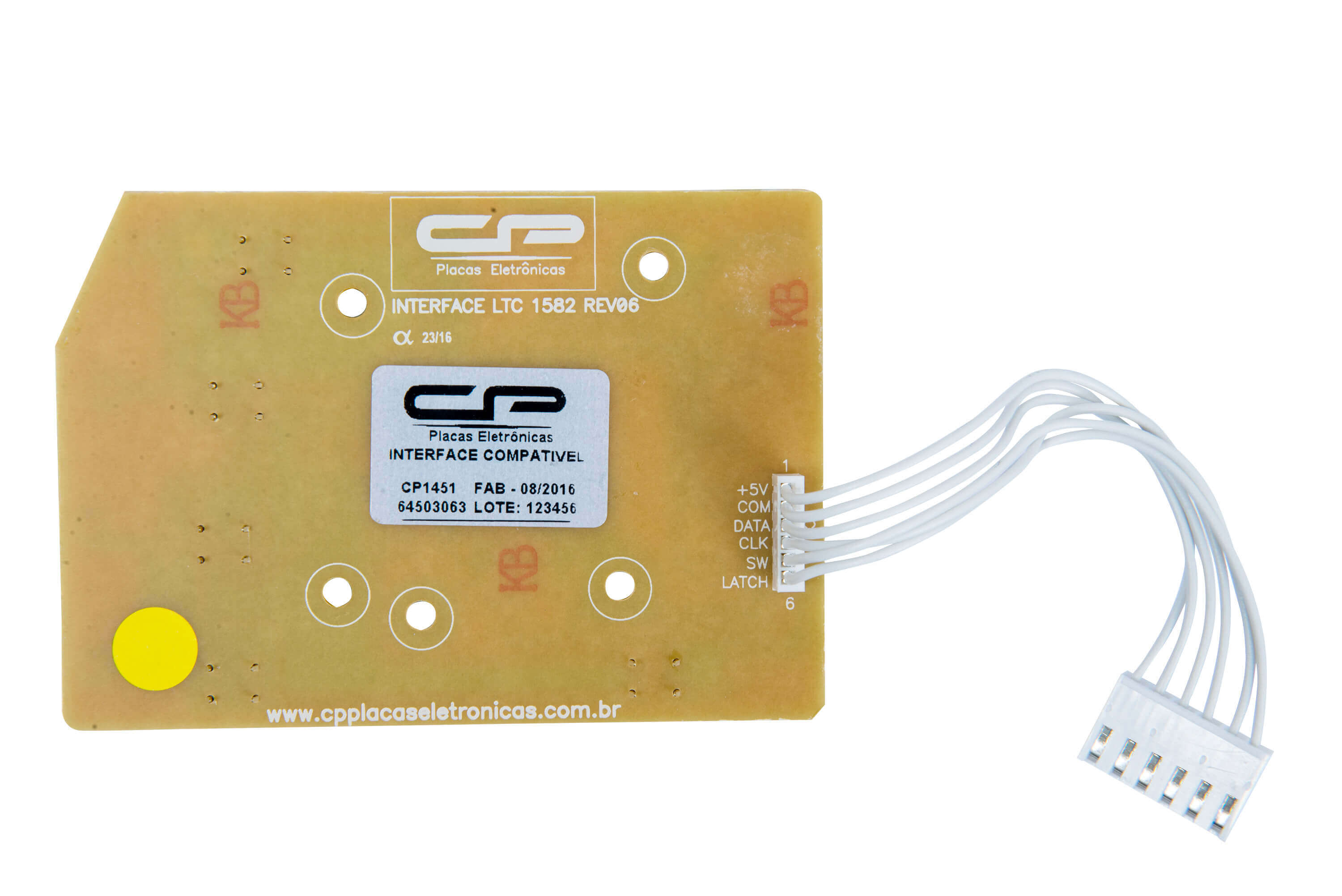 CP 1451 - Interface LTC10, LT12F, LT15F, LTD09, LTD11, LTD13, LTD15 LED AZUL BIVOLT