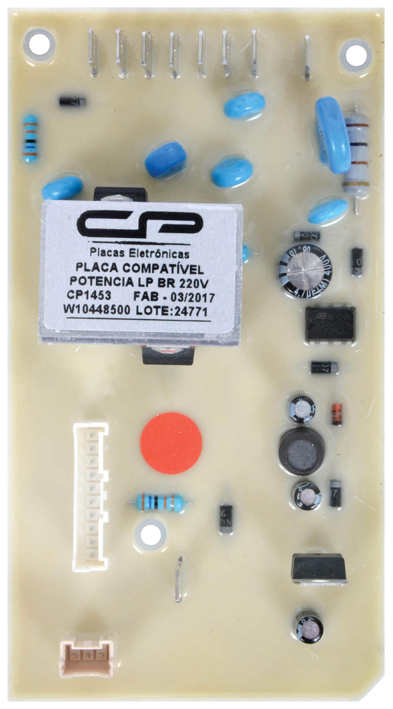 CP 1453 - Placa compatível potência LP BR 220V BWB08A / BWB09AB / BWB11AB / BWC07A / BWC08A / BWC09AB / BWC10A / BWC10BB/BWC11AB / BWL09B / BWL11A / BWL11AR / CWC10AB / CWG11AB / CWK11AB / CWK12AB / CWL10B / CWL75A