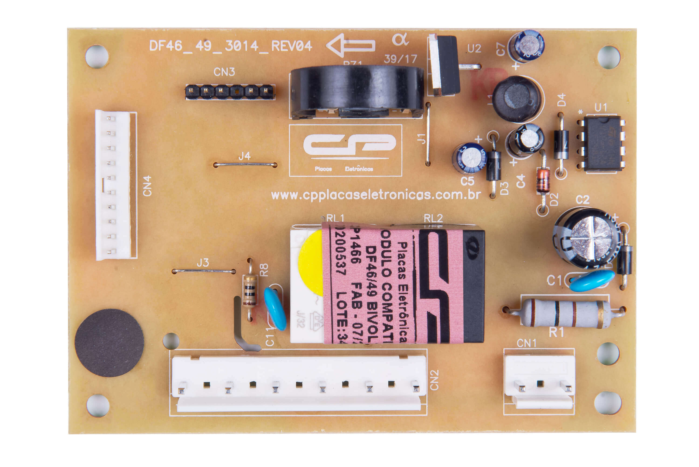 CP 1466 - Módulo compatível refrigerador DF46/DF49 bivolt