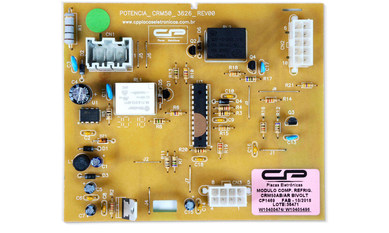 CP 1469 - Módulo compatível refrigerador CRM50AB/AR BIVOLT